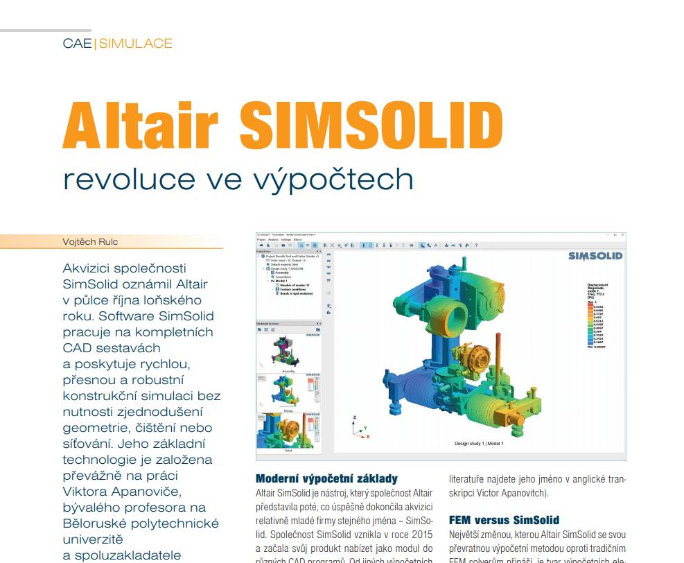 Altair SimSolid – Simulation Revolution