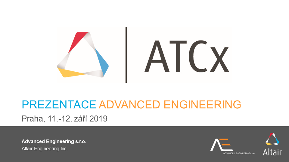 ATCx 2019: prezentace Advanced Engineering