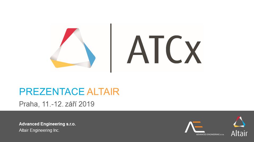 ATCx 2019: Altair presentation