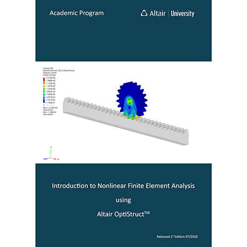 eBook: Nonlinear FEA using Altair OptiStruct