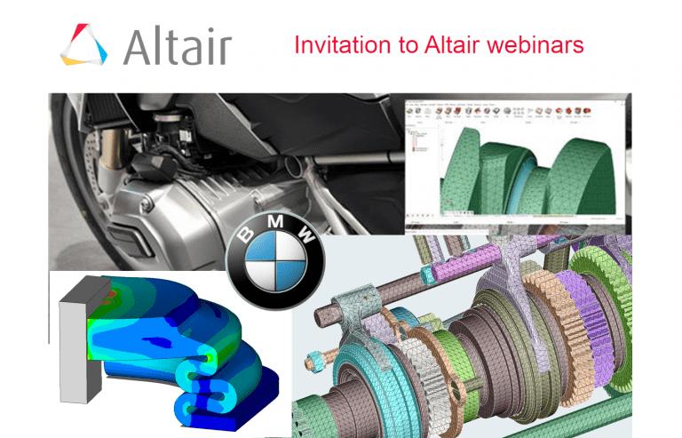 Invitation to new webinars