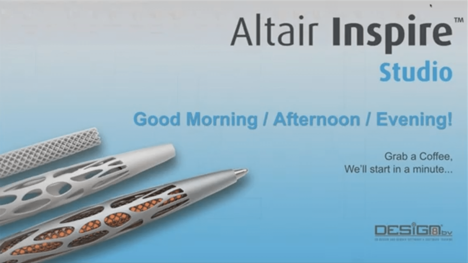 Altair Inspire Studio – Webinar recording