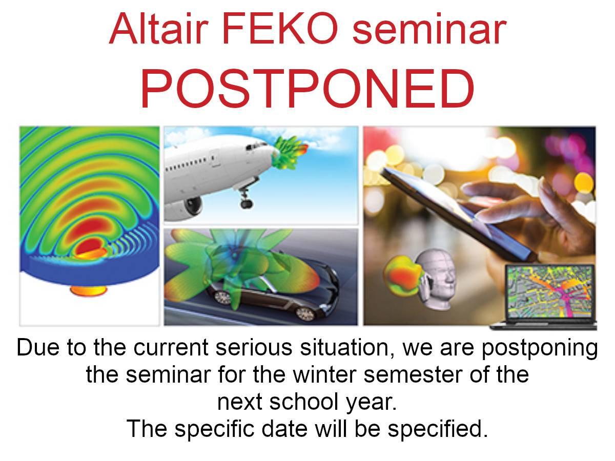 Altair FEKO seminář