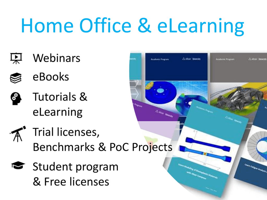 HomeOffice support and eLearning