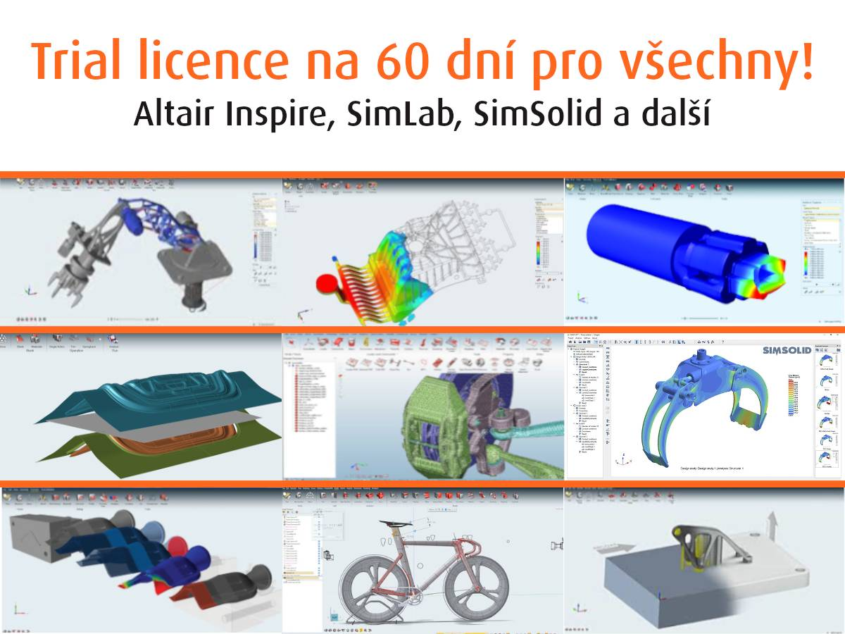 Trial licence solidThinking na 60 dní