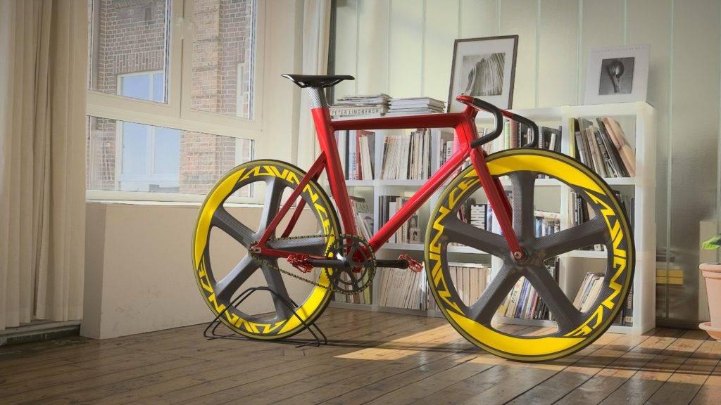 Inspire Studio: Track Bike by Francesco Di Giuseppe