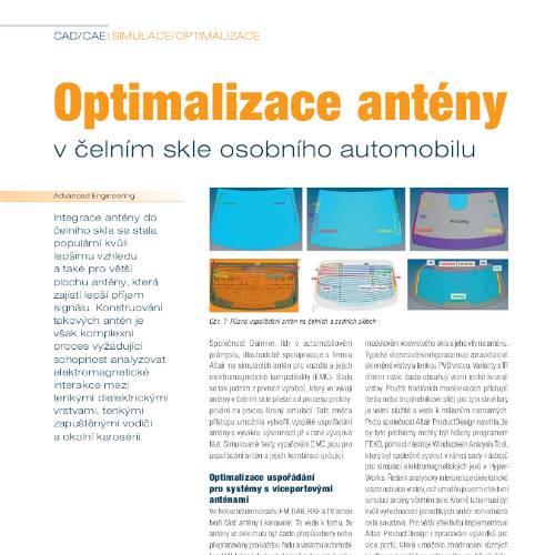 Optimizing the Layout of Glass Antena at Daimler