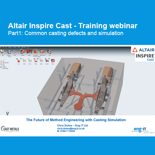 Altair Inspire Cast: Training Webinar Part1