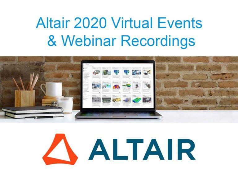 Altair 2020: záznamy zon-line konferencí awebinářů