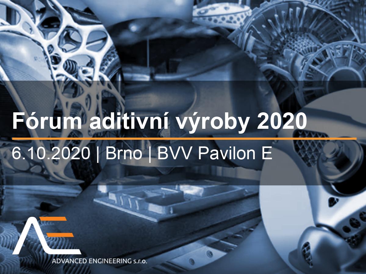 Fórum aditivní výroby 2020