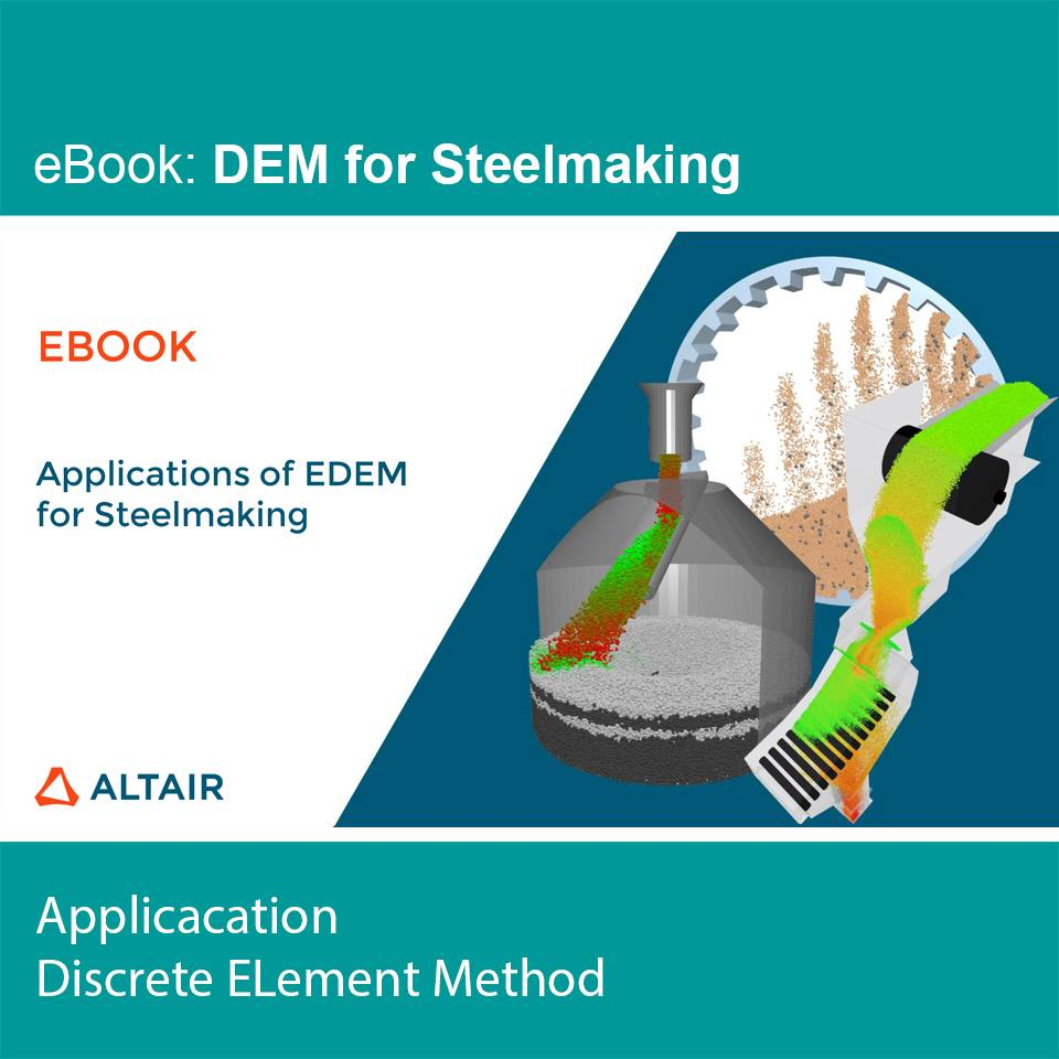 eBook: Applications of EDEM for Steelmaking
