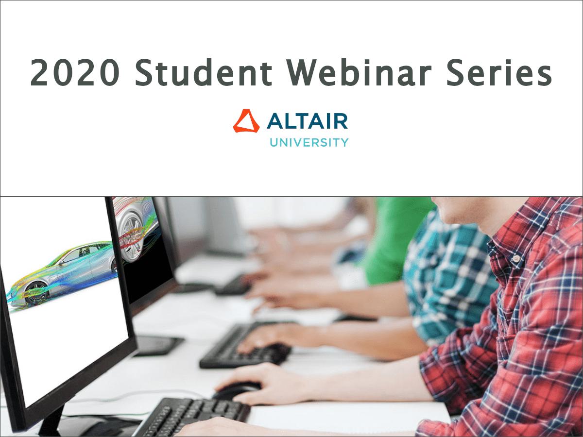 2020 Student Webinar Series
