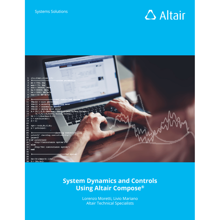 eBook: System Dynamics and Controls Using Altair Compose