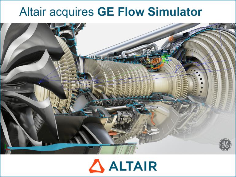 Altair acquires GE Flow Simulator