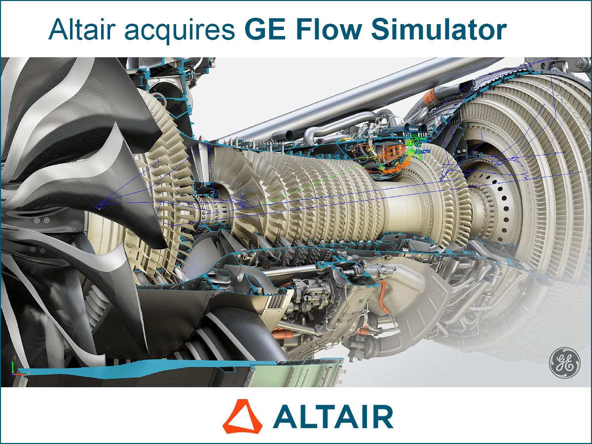 Altair přebírá GE Flow Simulator