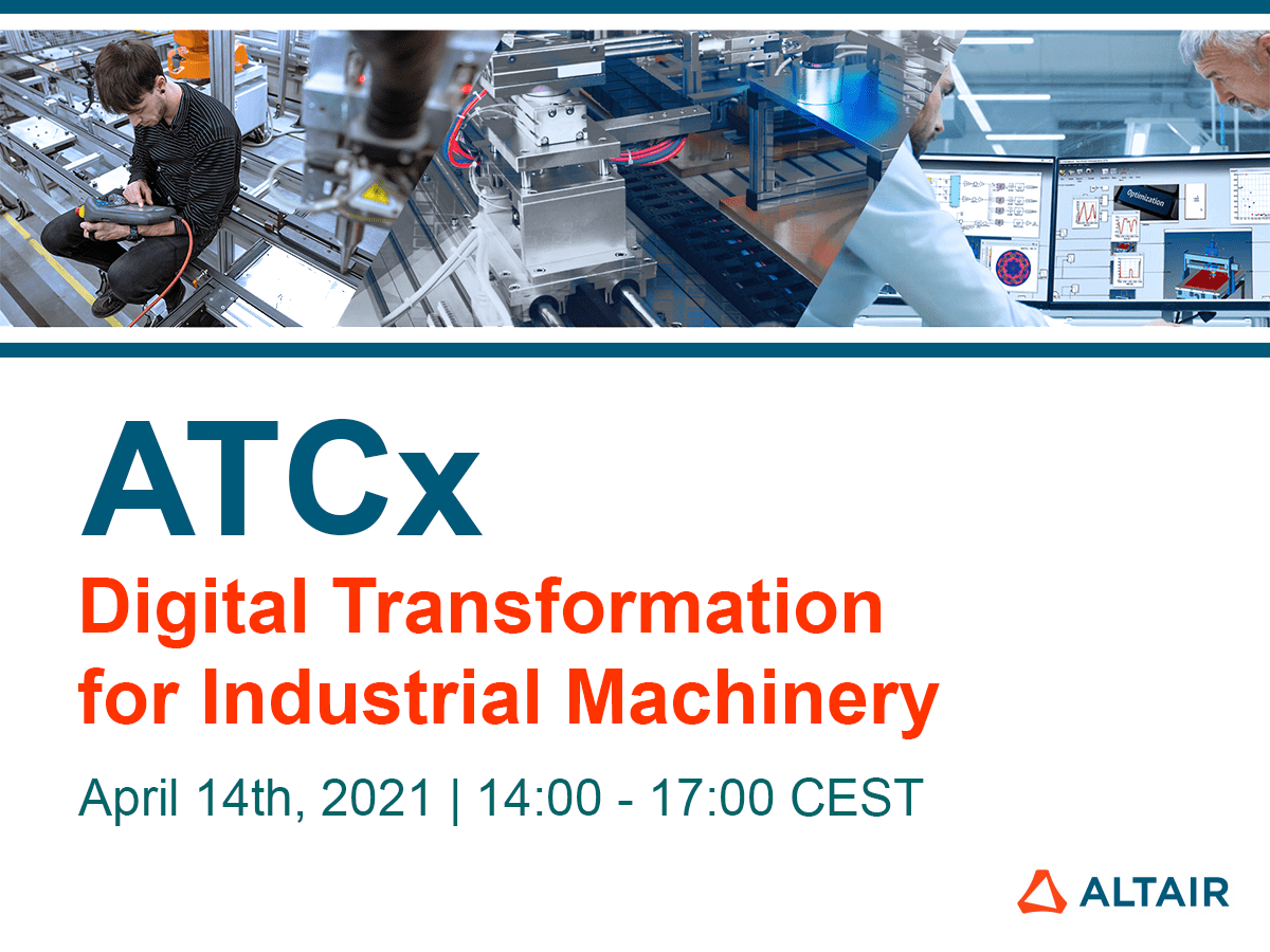 ATCx – Digital Transformation for Industrial Machinery
