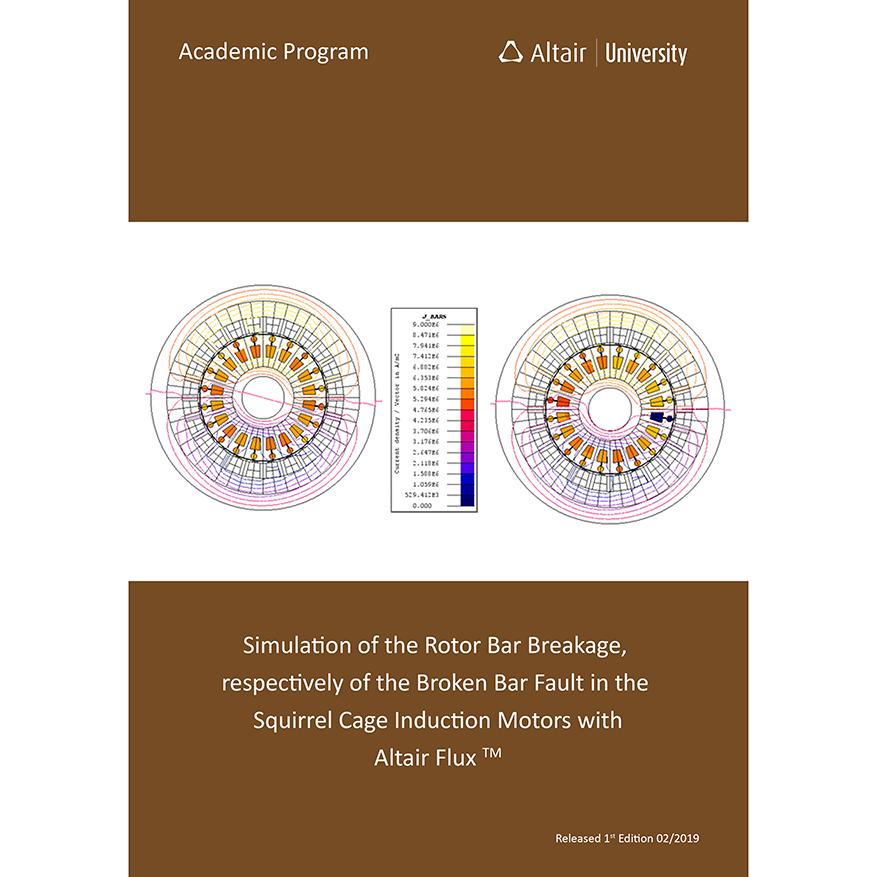 eBook: Flux2D simulation of the broken rotor bar fault