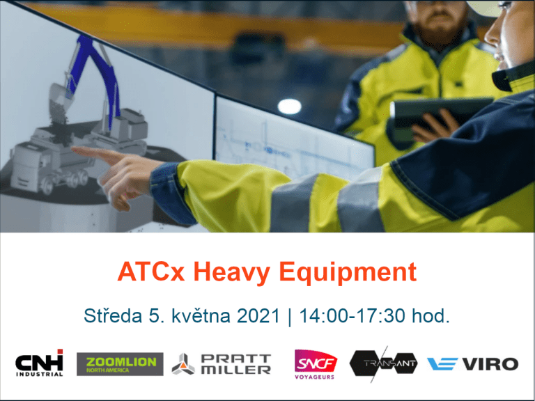 ATCx Heavy Equipment – online konference