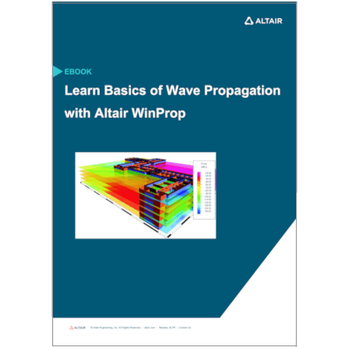 eBook: Learn Basics of Wave Propagation with Altair WinProp