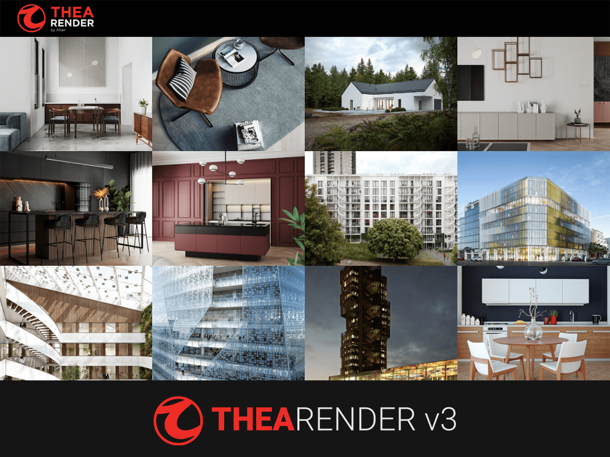 Thea Render V3 for Rhino & SketchUp