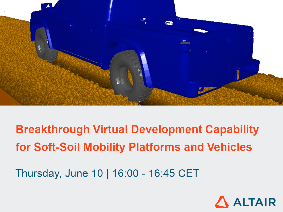 Breakthrough Virtual Development Capability for Soft-Soil Mobility Platforms and Vehicles