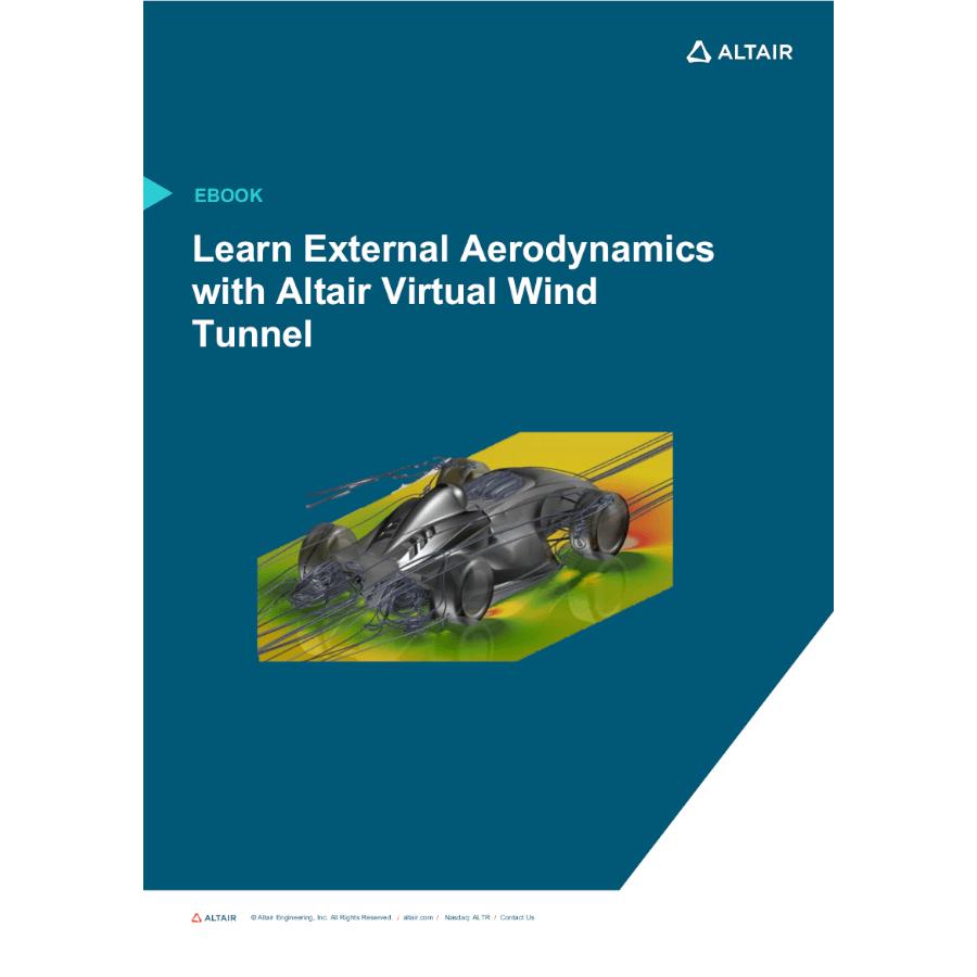 eBook: Learn External Aerodynamics with Virtual Wind Tunnel