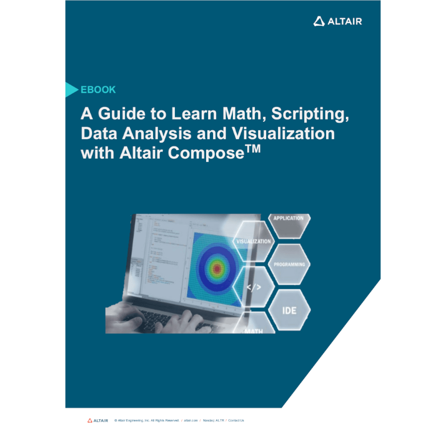 eBook: AGuide to Learn Math, Scripting, Data Analysis and Visualization with Altair Compose