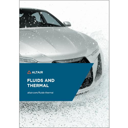 Brožura: Nástroje pro fluidní atermální simulace