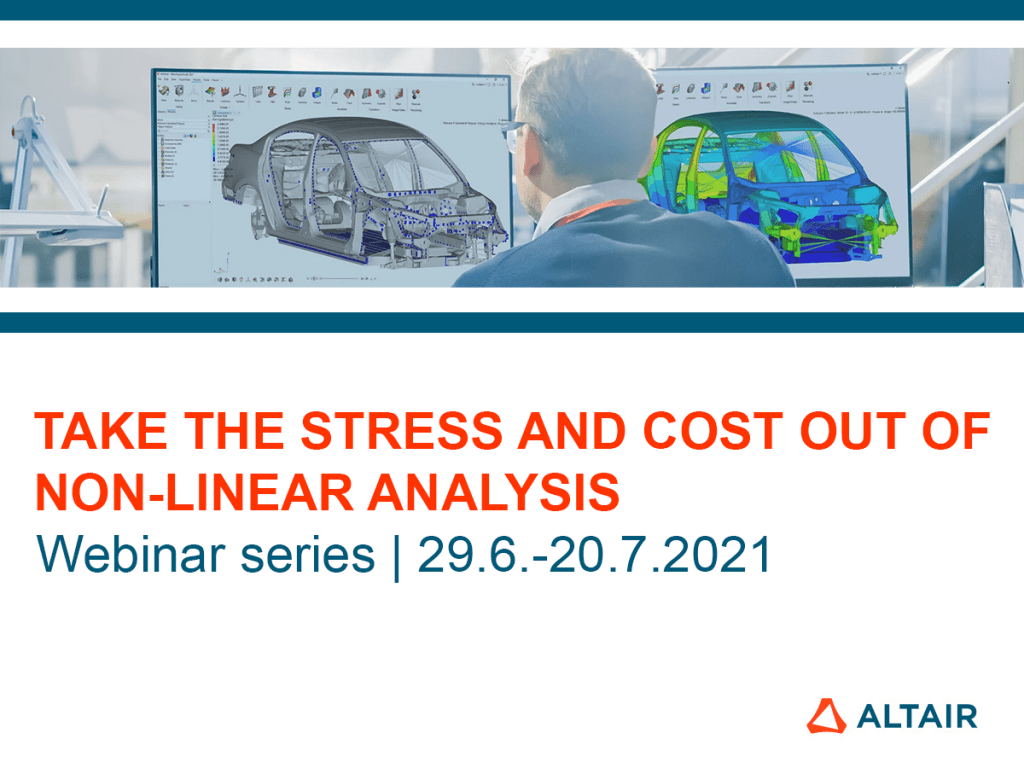 Webinar series: Non-linear Analysis with Jaguar Land Rover and Prodrive