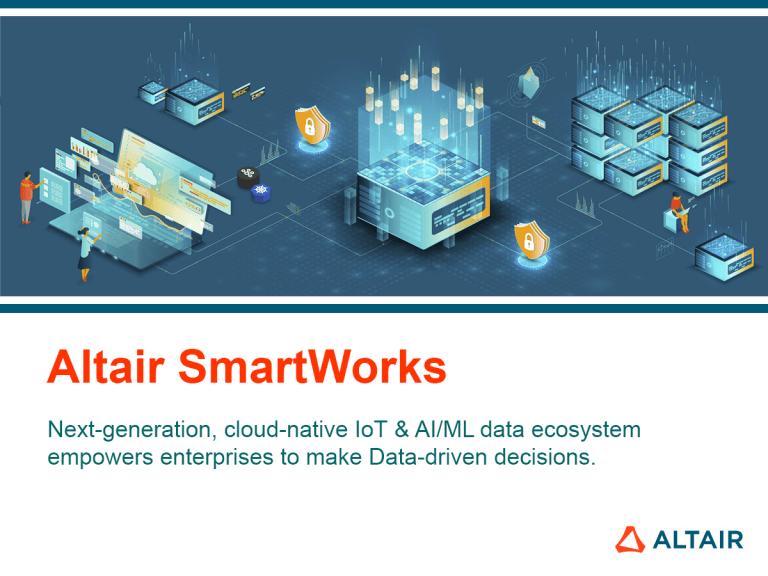 Nová generace Altair® SmartWorks™